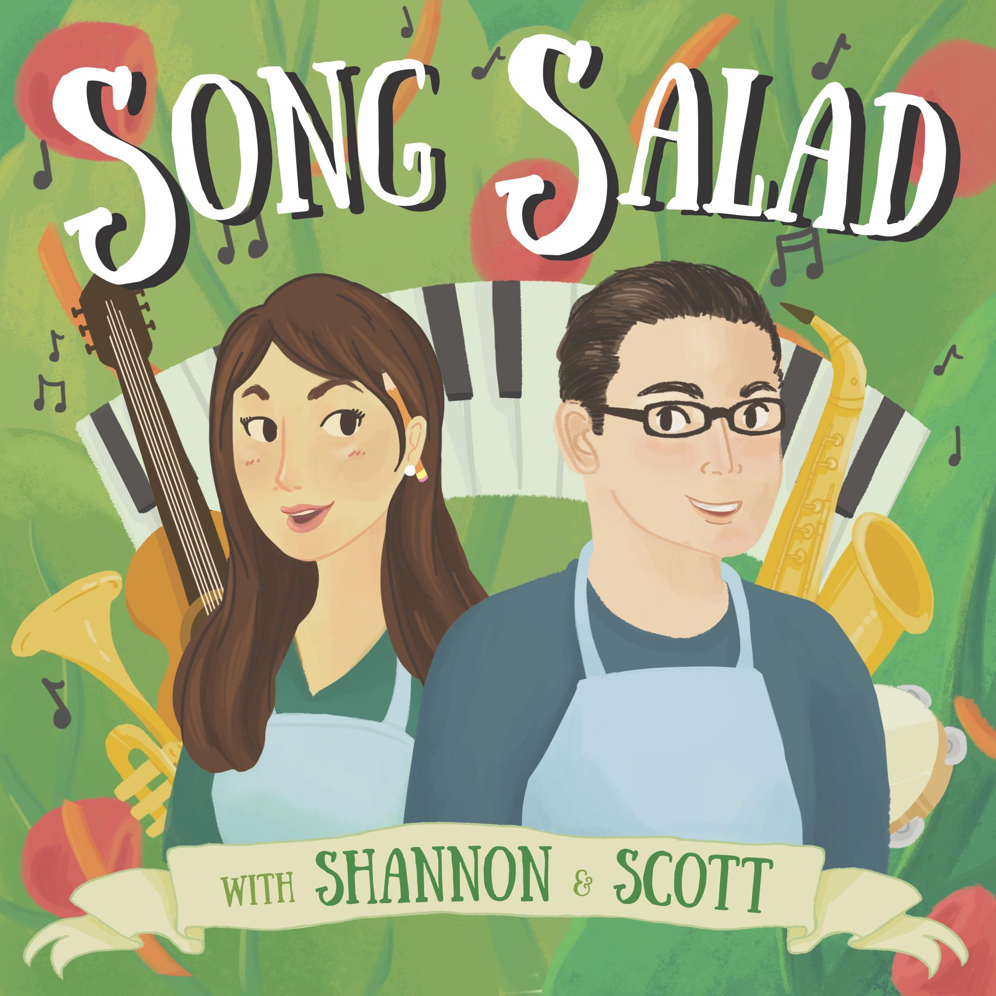 - A Song Salad is a short song about a random topic in a random style of music. Our show documents the writing process for these strange songs and even teaches you a bit about music along the way.Each week, we randomize our list of 500 music genres to pick a style, and then we hit