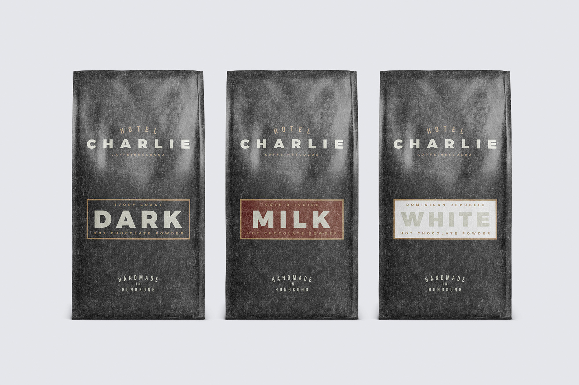 Hotel Charlie —A visually rich brand identity