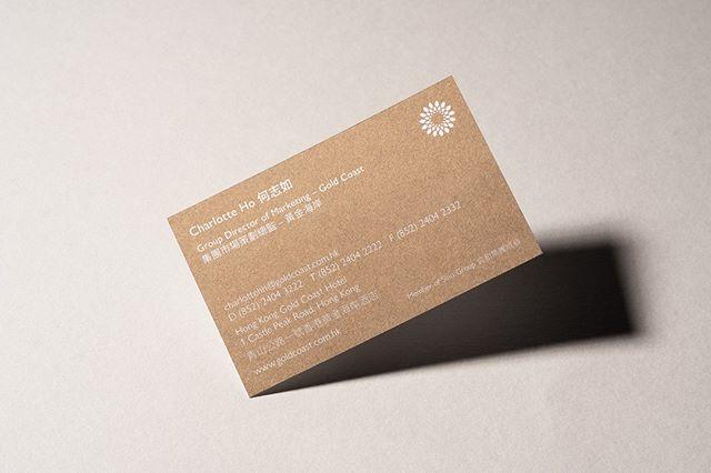 Namecards for Gold Coast  #branding #identity #logo #logoinspirations #brandidentity #trademark #graphicdesign #visualidentity #brandcrafthk #hongkong #hongkongdesign #852