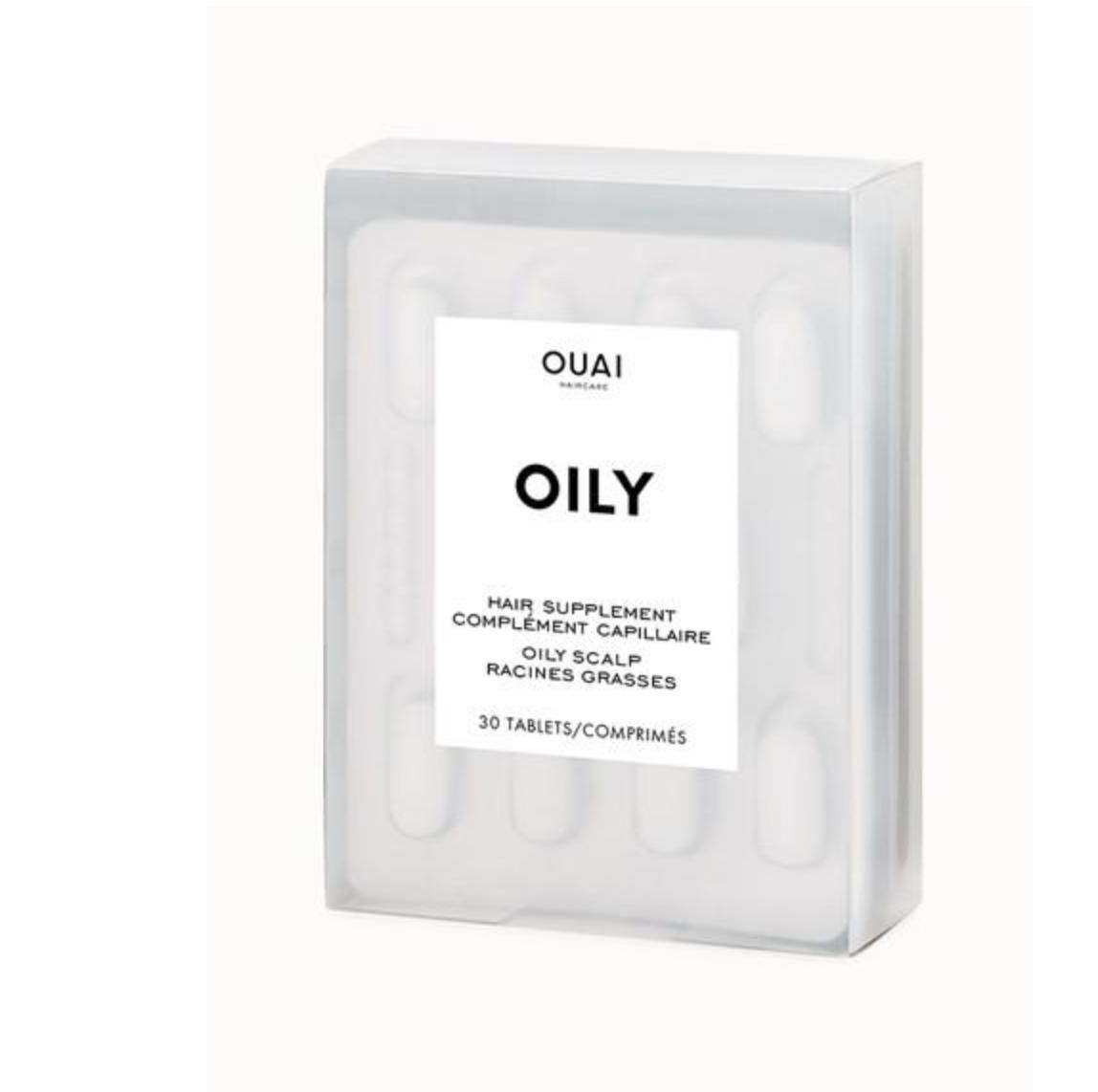 Ouai Oily Hair Supplements, $28  Net-A-Porter.com