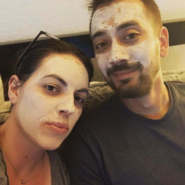 Couples who do detox masks together... have really awesome skin 😜 #arbonne #plantbased #healthyskin #skincare #veganskincare #facemask #healthyfromtheinsideout