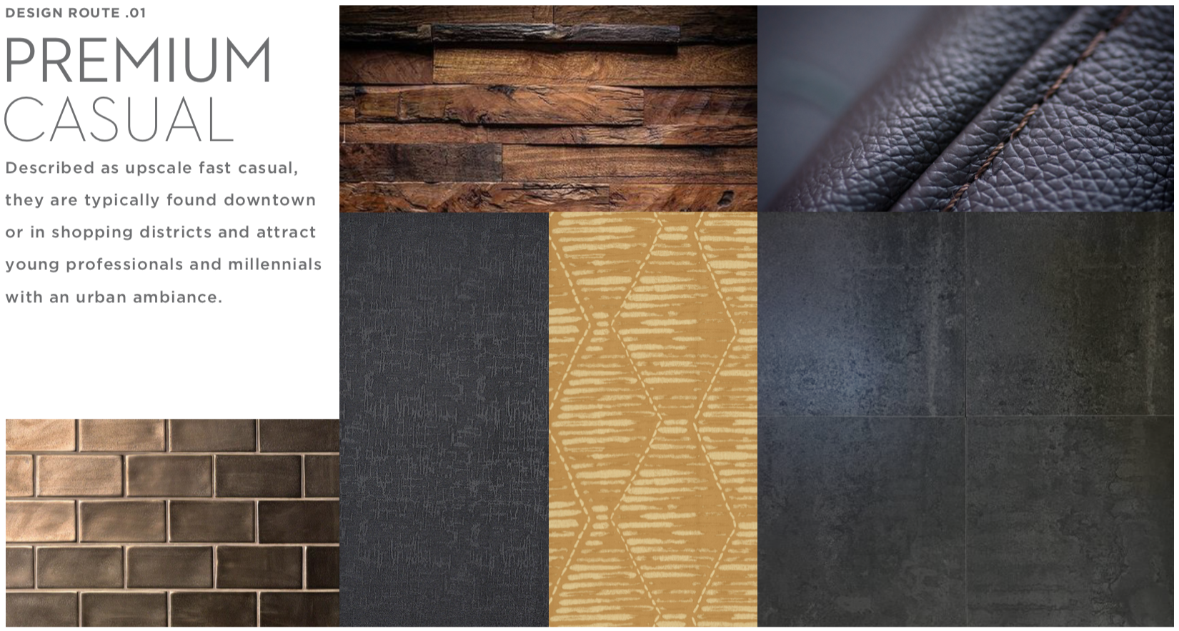 Color, texture and style board