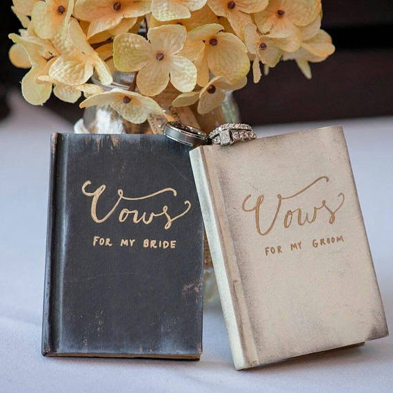 rustic and romantic wedding vow booklets.jpg