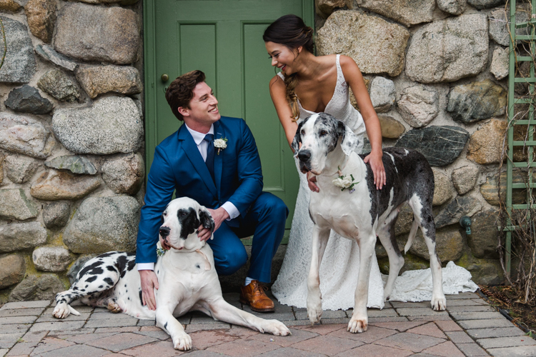Natalya DeSena Wedding Photography - Married Couple with Dogs.jpg