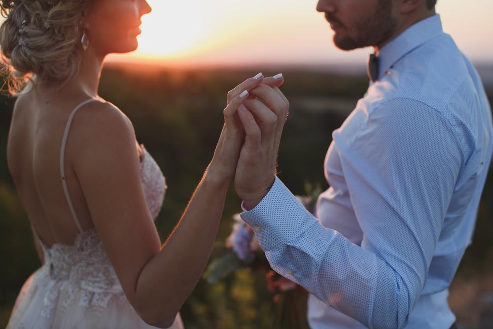 couple says non religous wedding vows.jpg