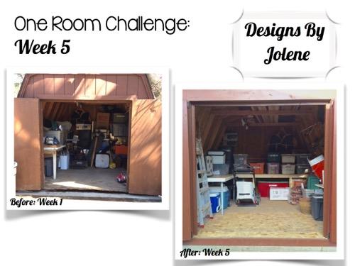 One Room Challenge: Week 5 Shed Makeover 5