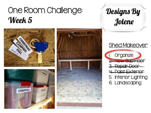 One Room Challenge: Week 5 Shed Makeover 6