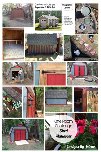 One Room Challenge: Week 6 Shed Makeover | The Final Reveal 12