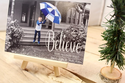 52 Weeks Of Mail- Week 51 Feature Photo | Holiday Photo Card II