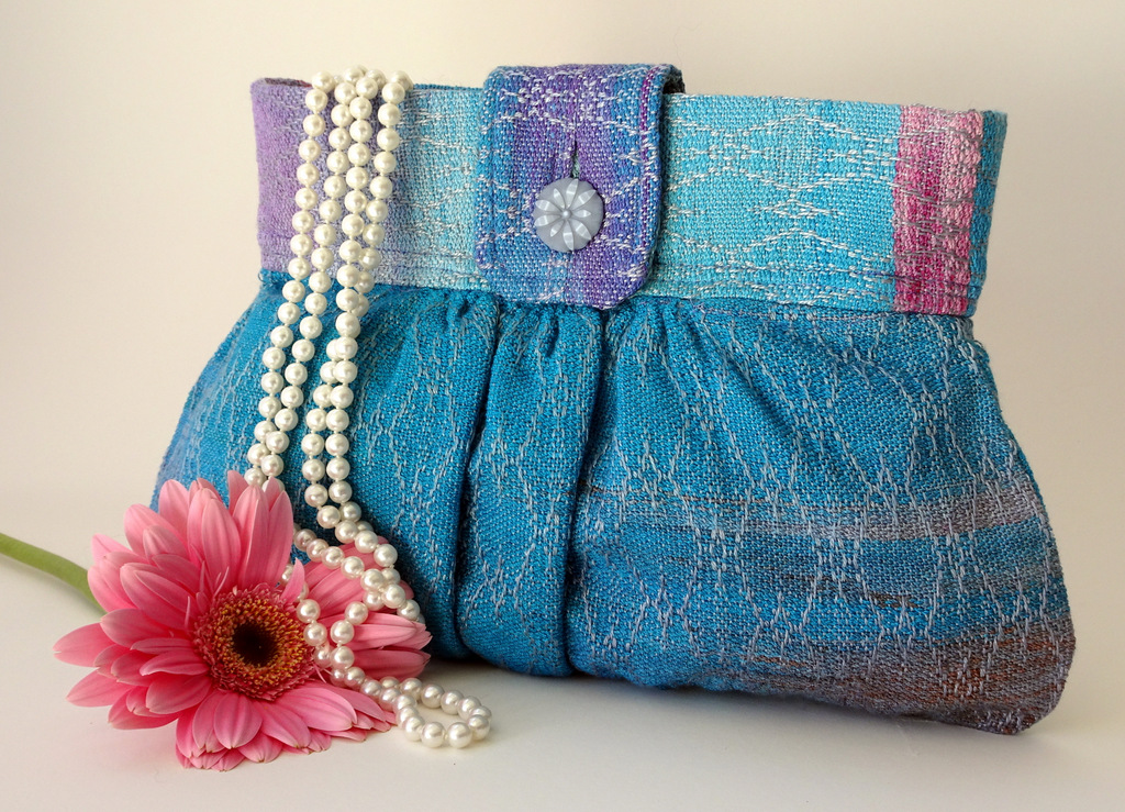 Handwoven Clutch Purse