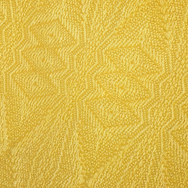 Sunshine Yellow Damask