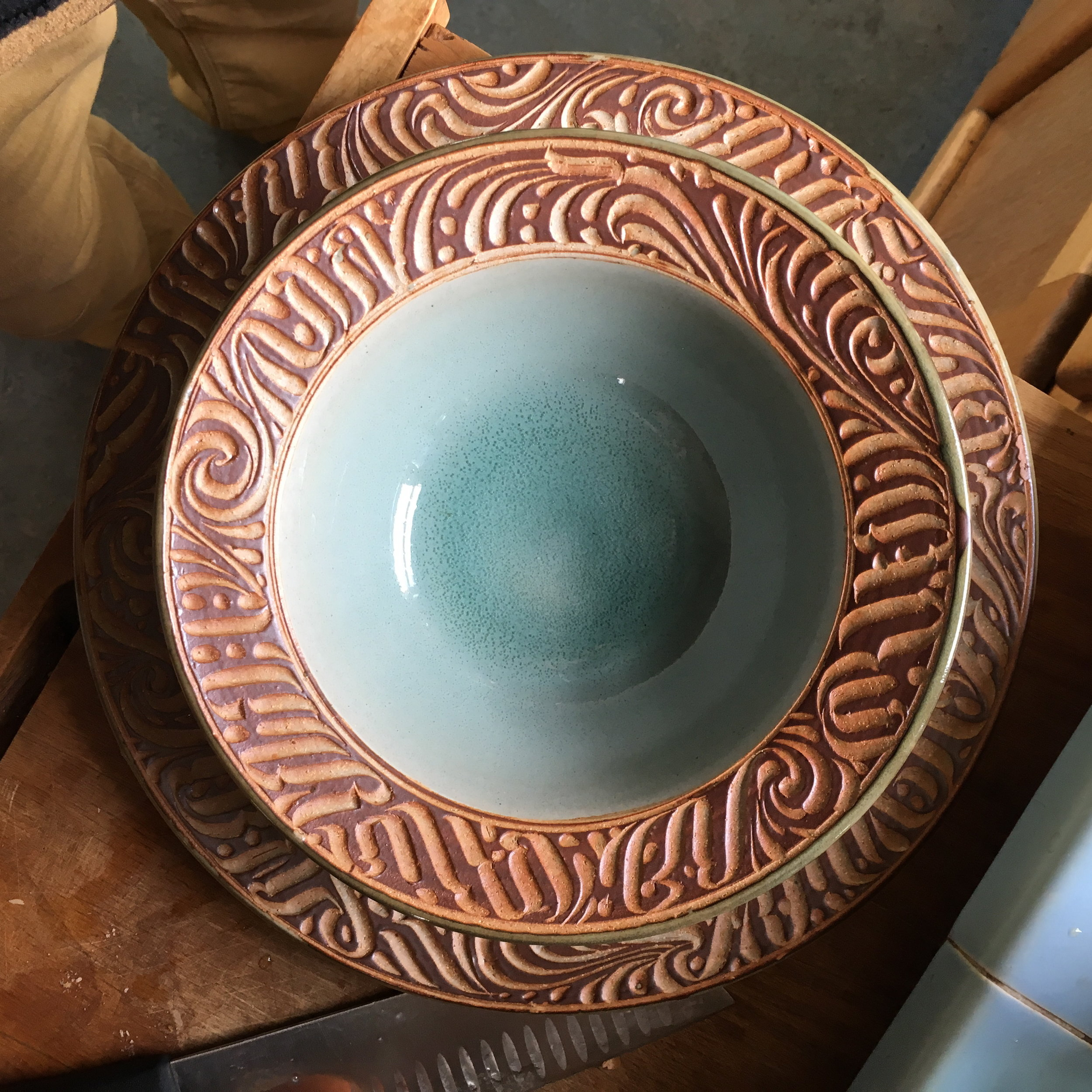 carved dinner sets coming this year.