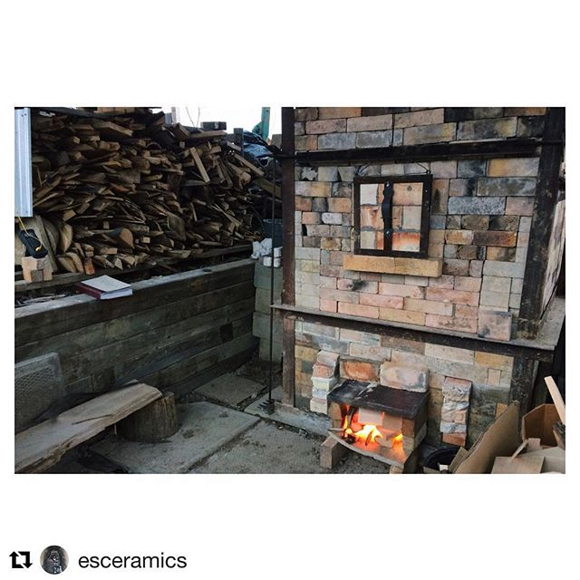 If you've ever wanted to give wood firing a try Emma and Duncan are hosting a workshop this summer. A great chance to learn from talented artists who are generous with their knowledge, like to have a good laugh around the kiln, and are two of the nicest folks around.  #Repost @esceramics with @get_repost ・・・ Looking to try out woodfiring for the first time? Have you done some firing but want to learn more in depth information on how to intentionally use this process? Do you love fire? @airdpottery and I are running a Woodfiring Workshop this June, and would love for you to join us! The workshop is open to only 8 participants - with a small group each person will get 6-7 cubic ft of kiln space, and lots of one on one instruction on how to best glaze, wad, load and fire our wood burning kiln. Registration is now open, and you can find all the details by following the link in my profile to my website.  #woodfiredceramics #canadianceramics #hamont #twopottersonekiln