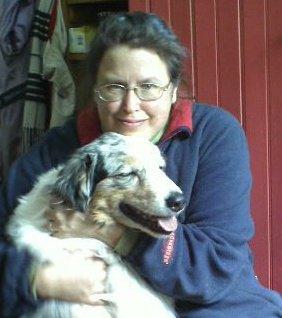 Jessie Haas photo with dog.jpg