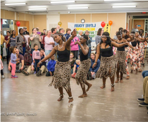 New American Africans Family Fun Night. Photo by  FieldWork Photos .