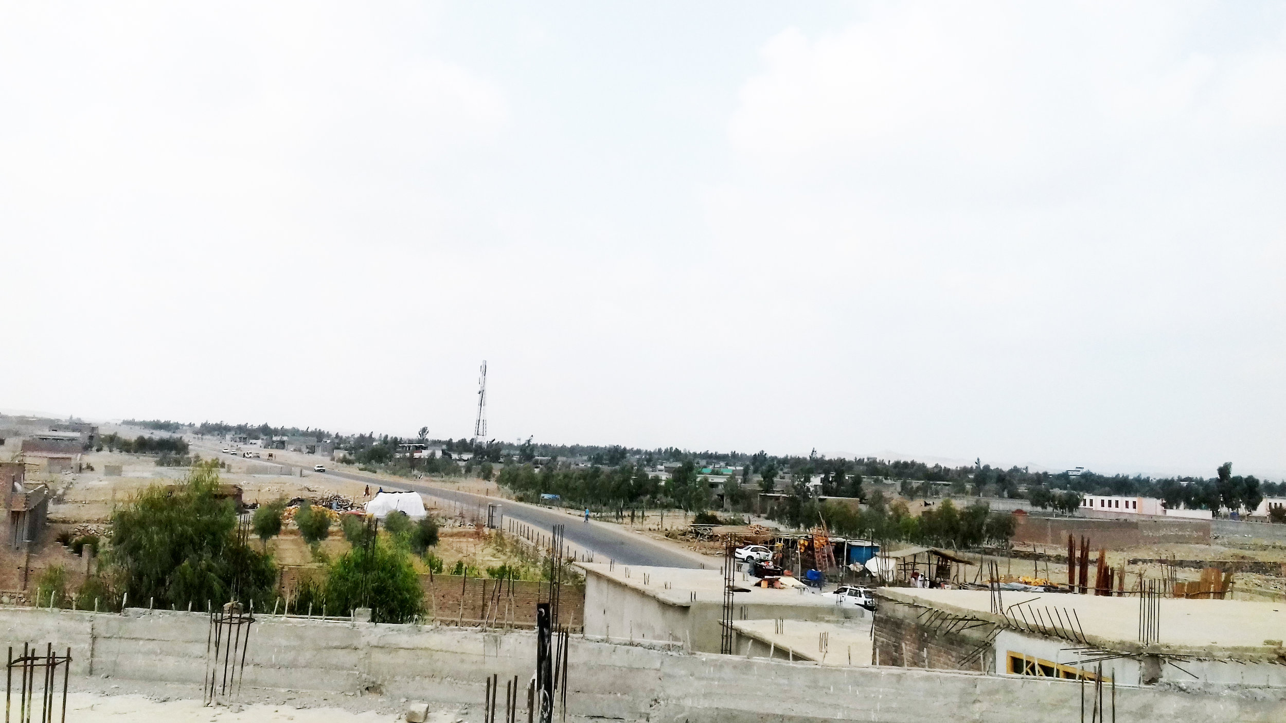 Chamtala Land Allocation Scheme (LAS) site. Photo by author.