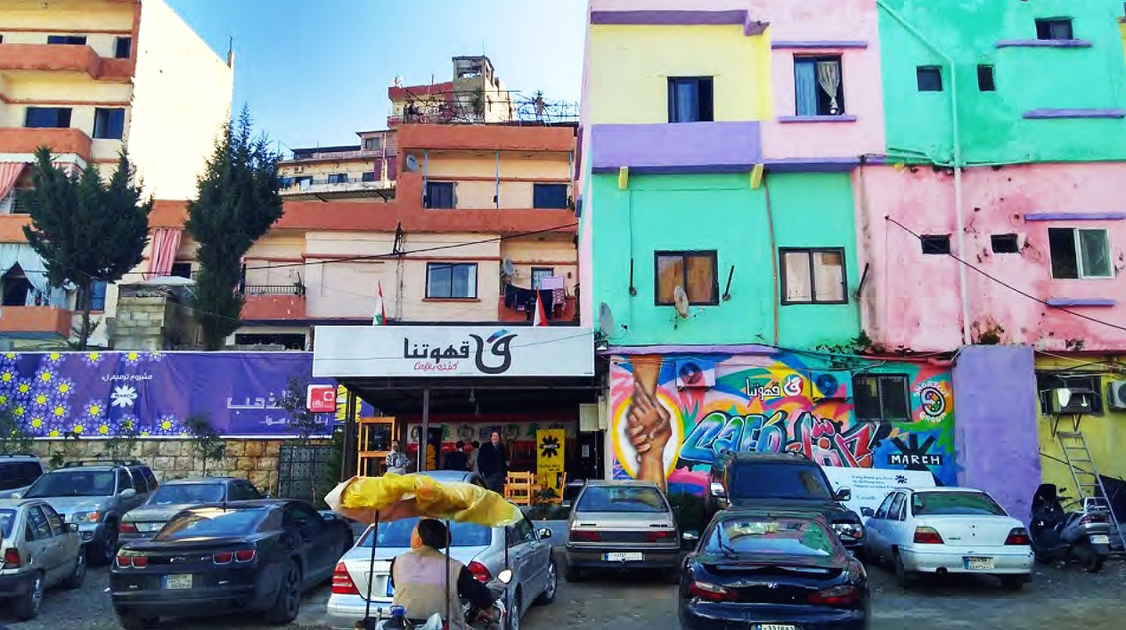 "Some popular rapid employment initiatives for Tripoli residents include ""beautification projects,"" which include painting the exteriors of buildings, as a means to visually improve the city aesthetics from the destruction of the war."