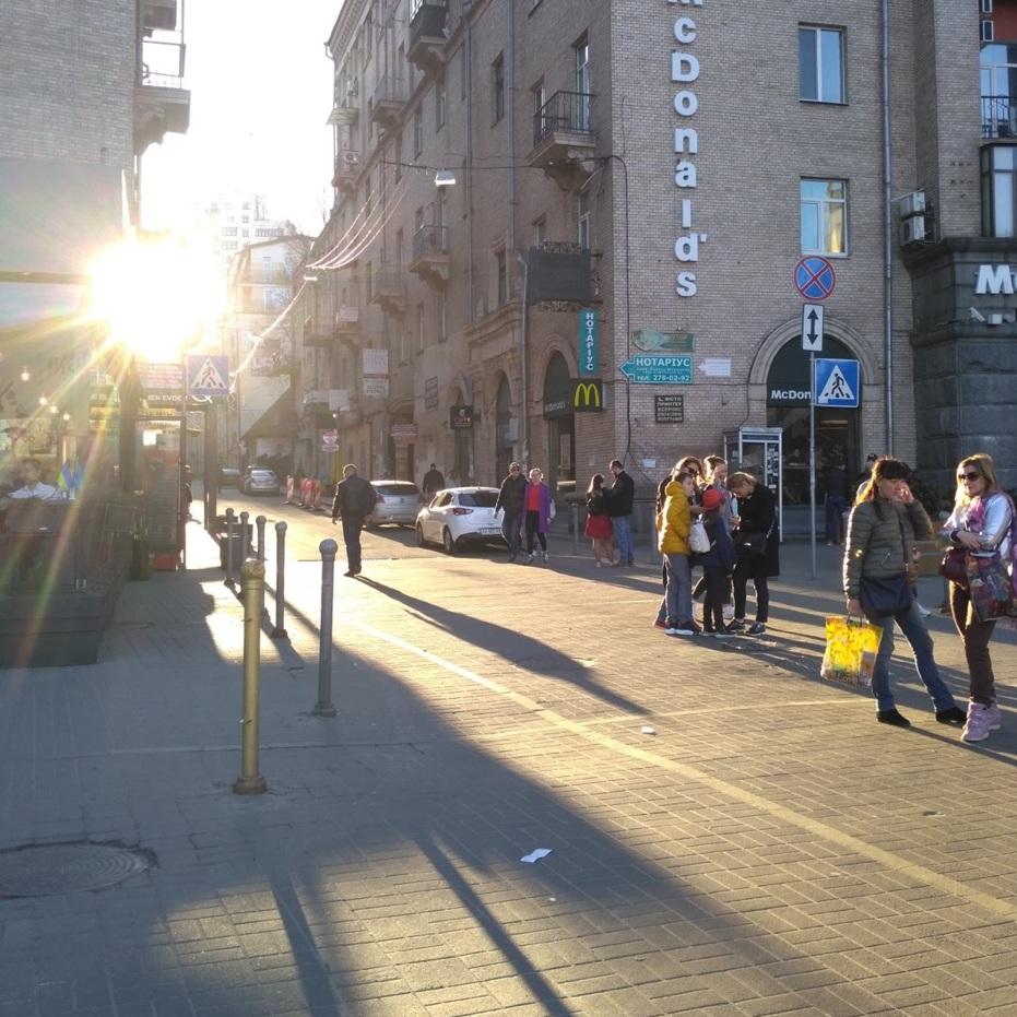 Maidan Nezalezhnosti, the main square of Kyiv. Photo by Yuliia Kabanets.
