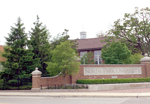 Figure 3: North Park University   North Park University acts as an anchor institution to the Albany Park area, providing jobs and contributing toward an inclusive culture that permeates the surrounding neighborhoods.