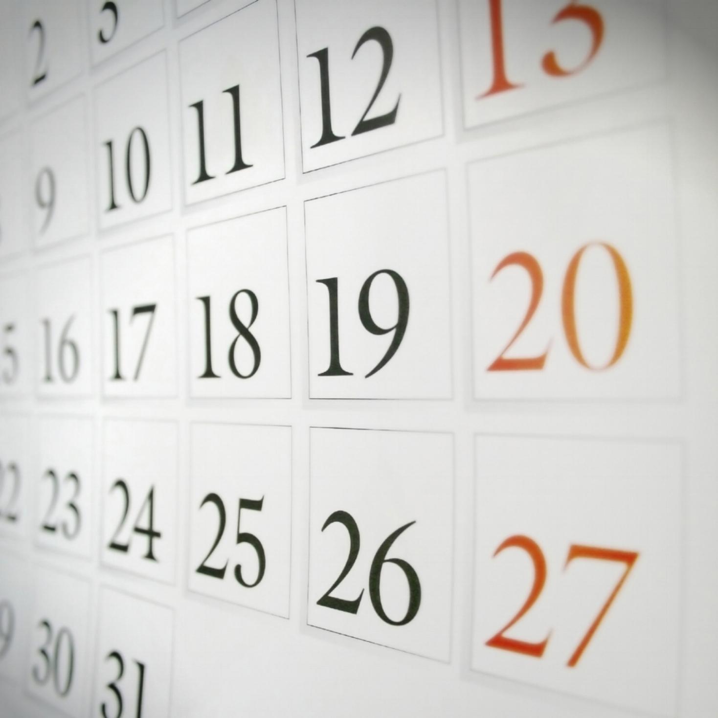 Events Calendar -