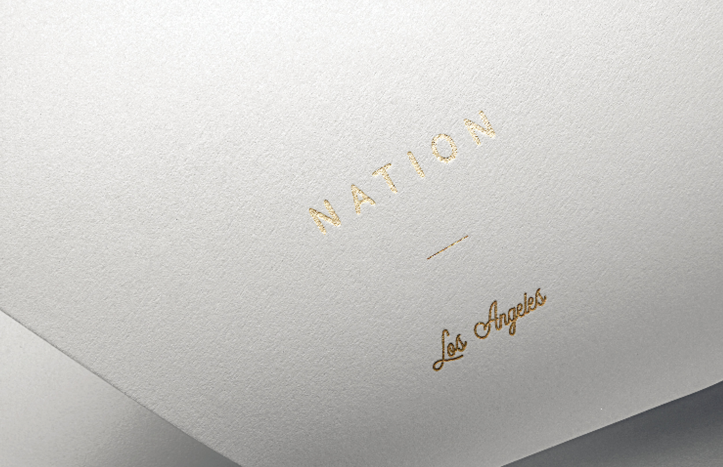 Nation LA    Branding exploration