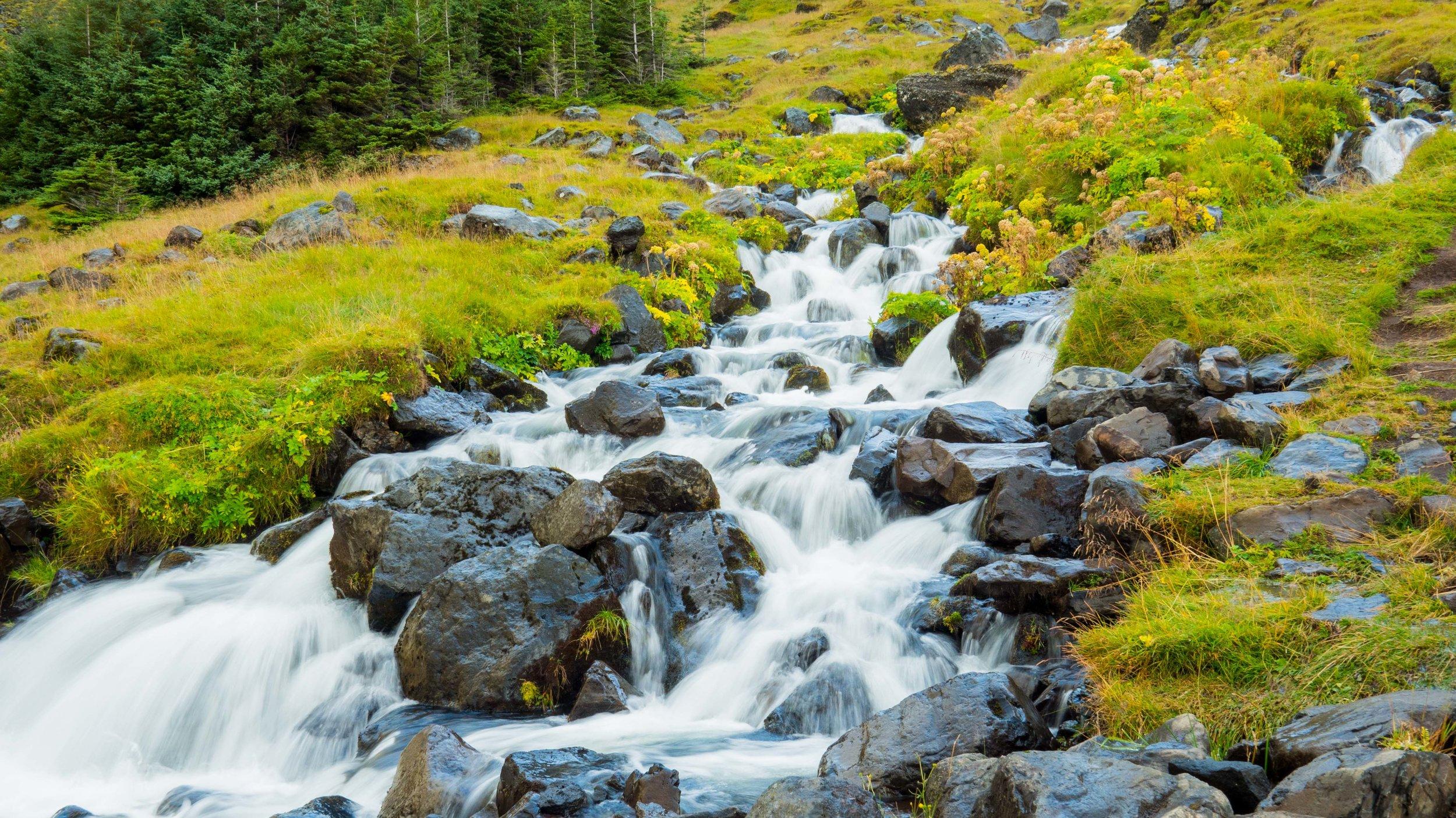 Smaller foss along our route near Snæfellsnesvegur (Rt. 54)