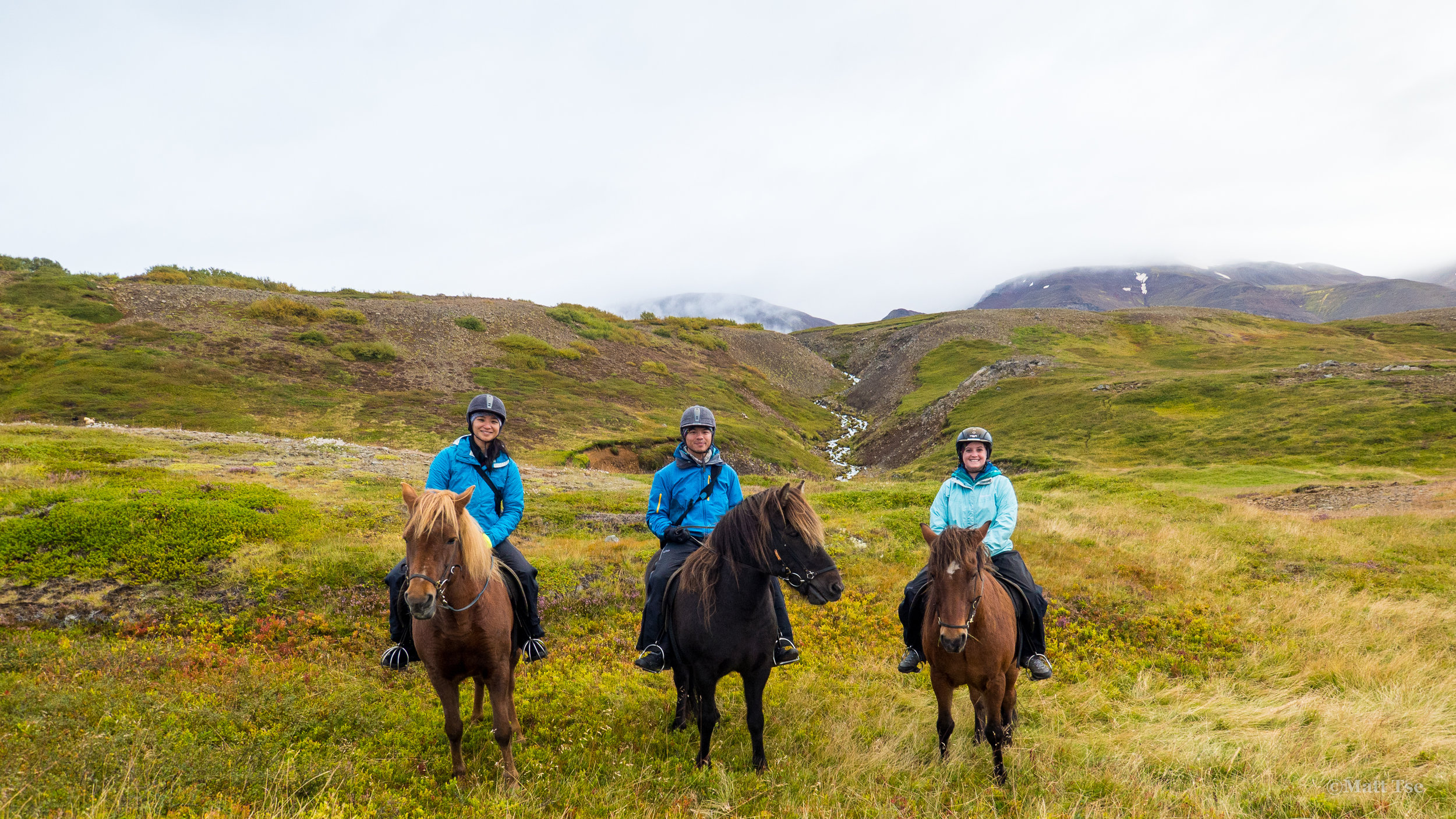 Group shot of us on horseback, we had a private tour (unintentionally)and this might have been the best value activity we did.