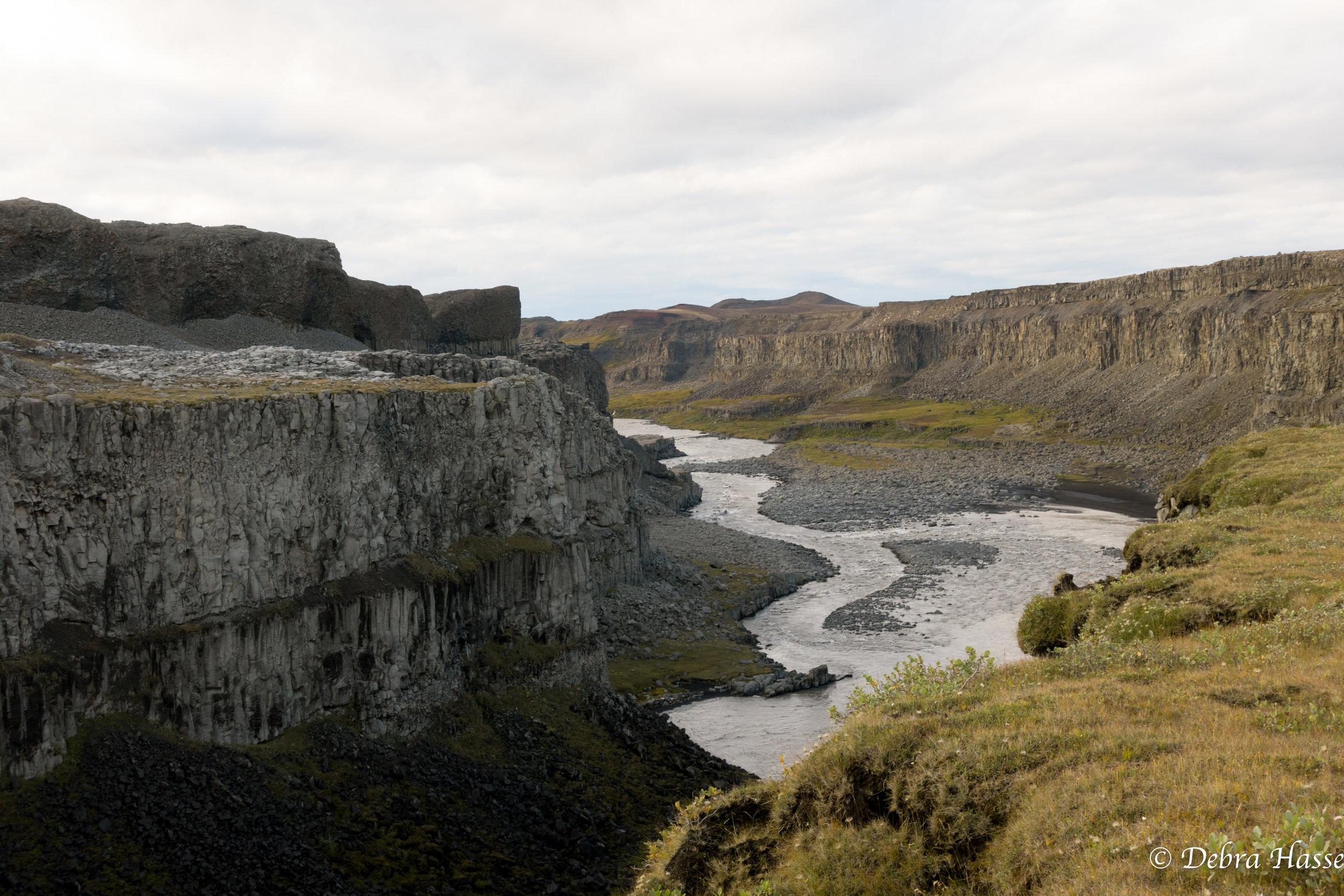 Jokulsargljufur, glacier-river-canyon
