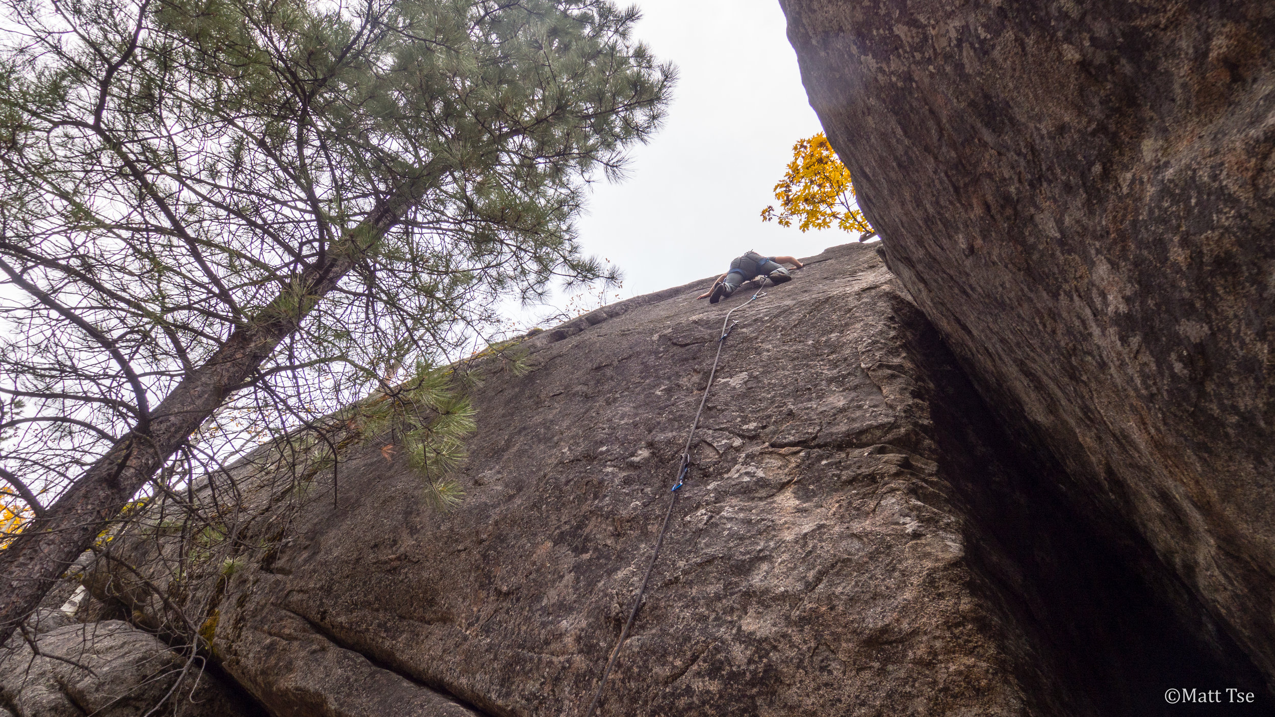 """Really slabby, as Honnold would say, """"Just steep hiking""""...right."""