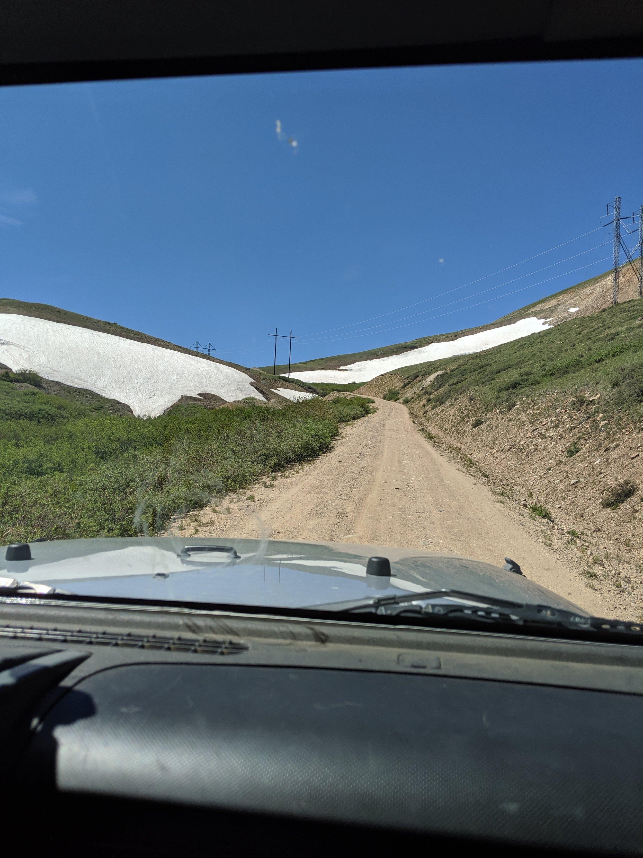 a quick 4WD detour over Weston Pass