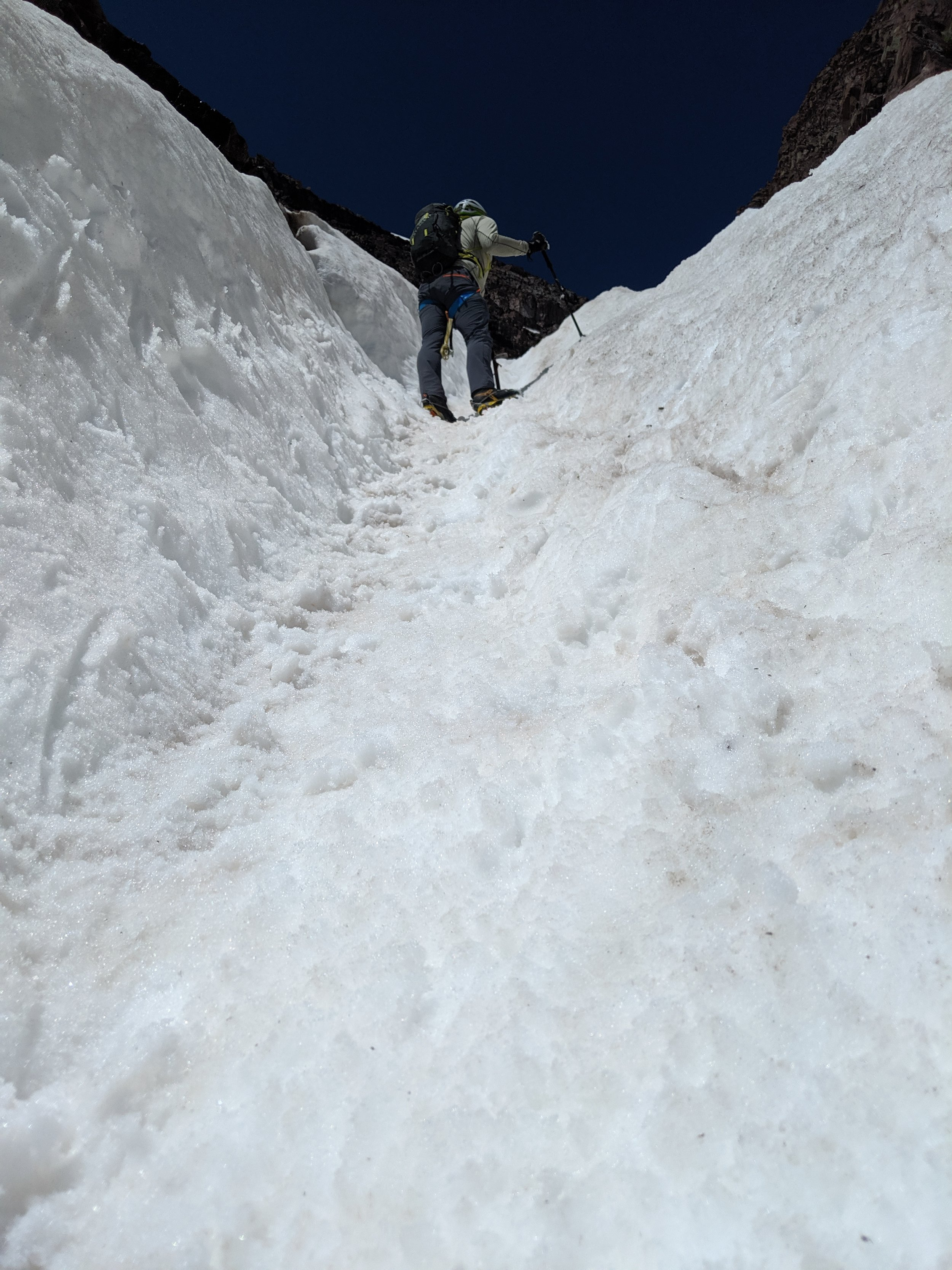 More climbing.