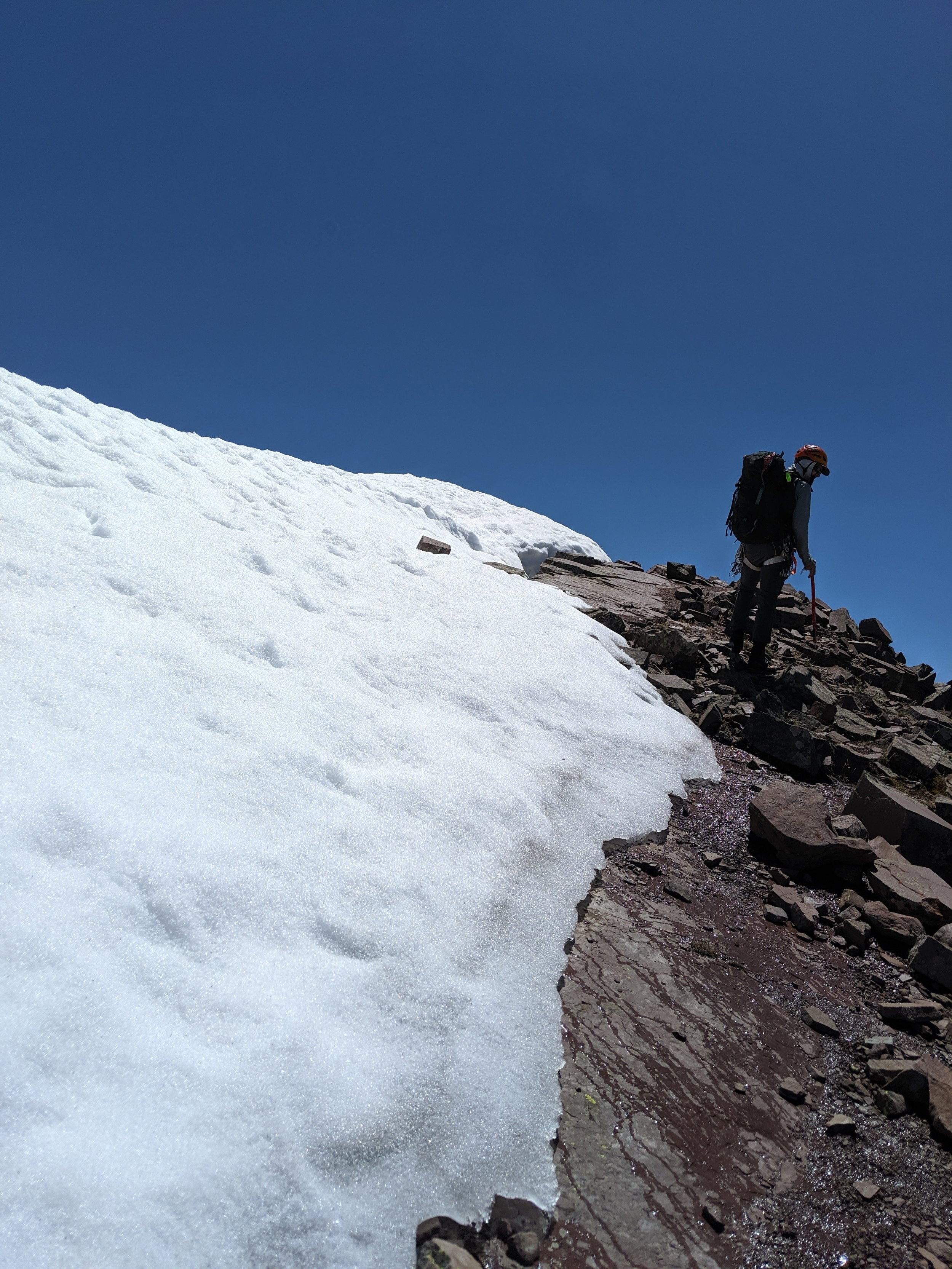 Love for the mountains and of course the icing, the summit.