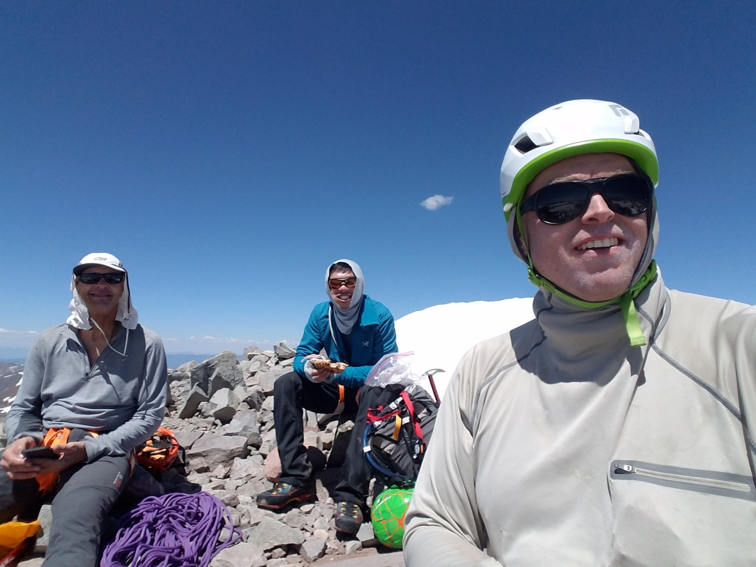 Glory in the summit selfie.