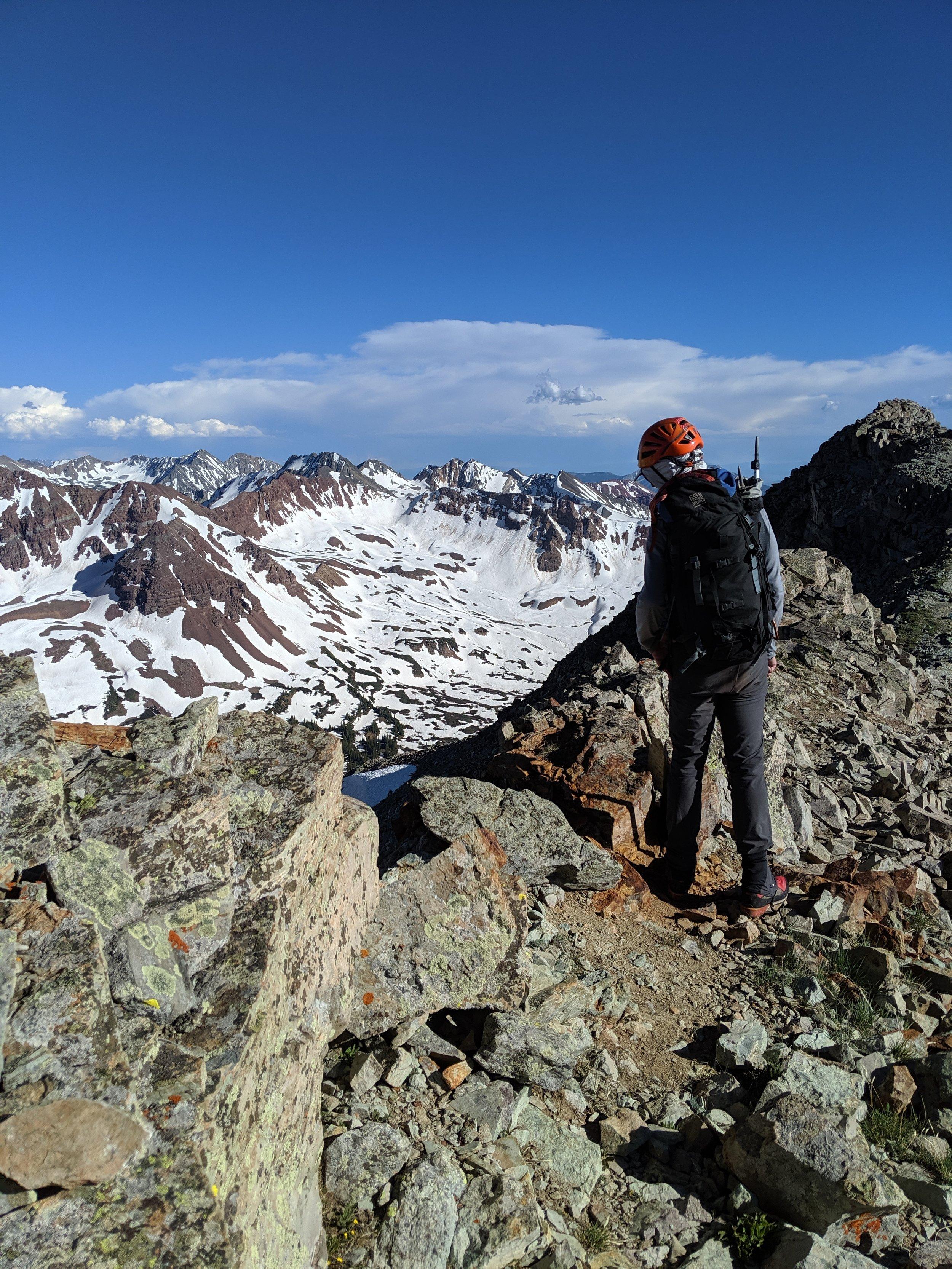 Ridge peering.