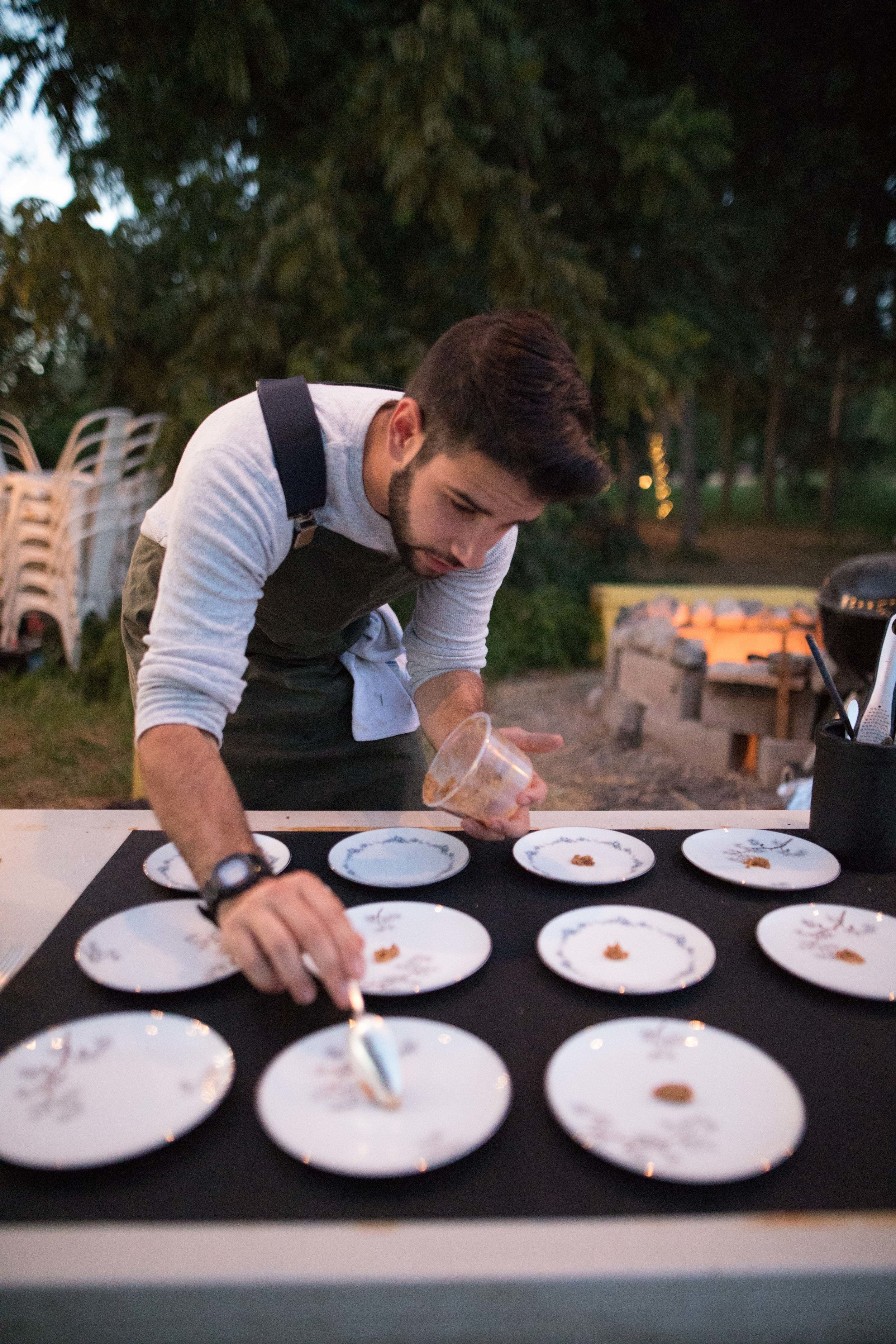 Justin Khanna - Owner/Chef