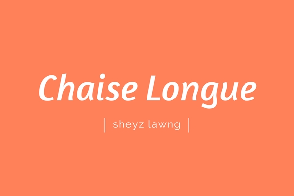 Chaise Lounge | sheyz lawng | Pronounciation