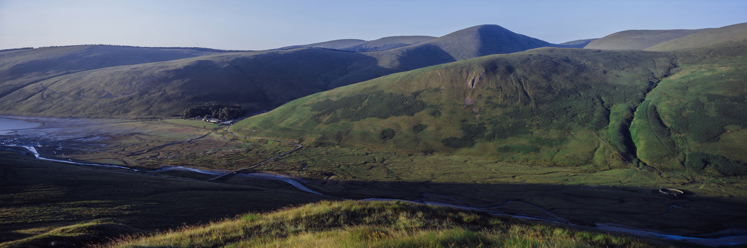 lowland panoramas - the stunning Lowland Scottish Landscape in Panoramic..