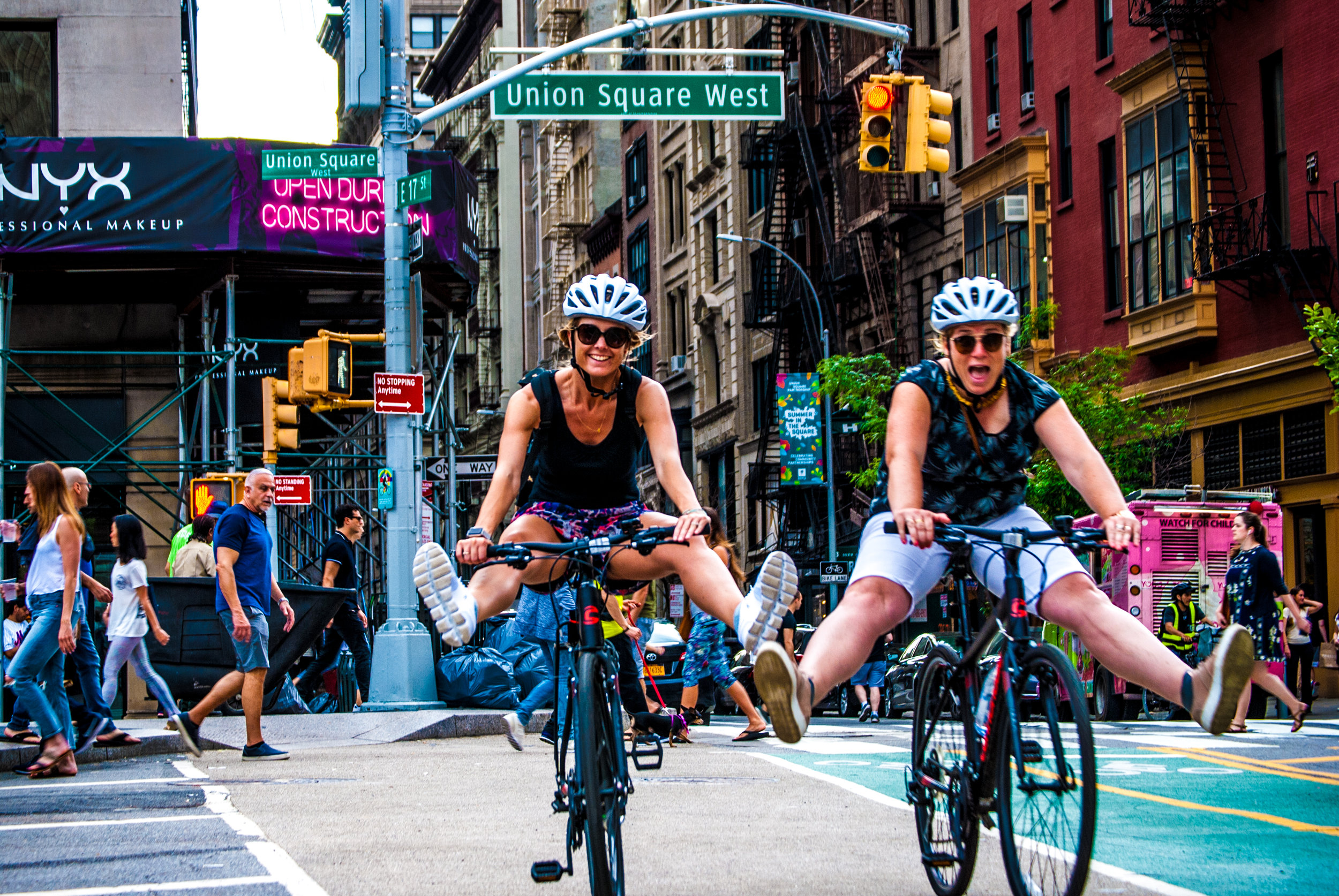 RIDE MORE - We have the best routes, covering more than any other tour operator in NYC.