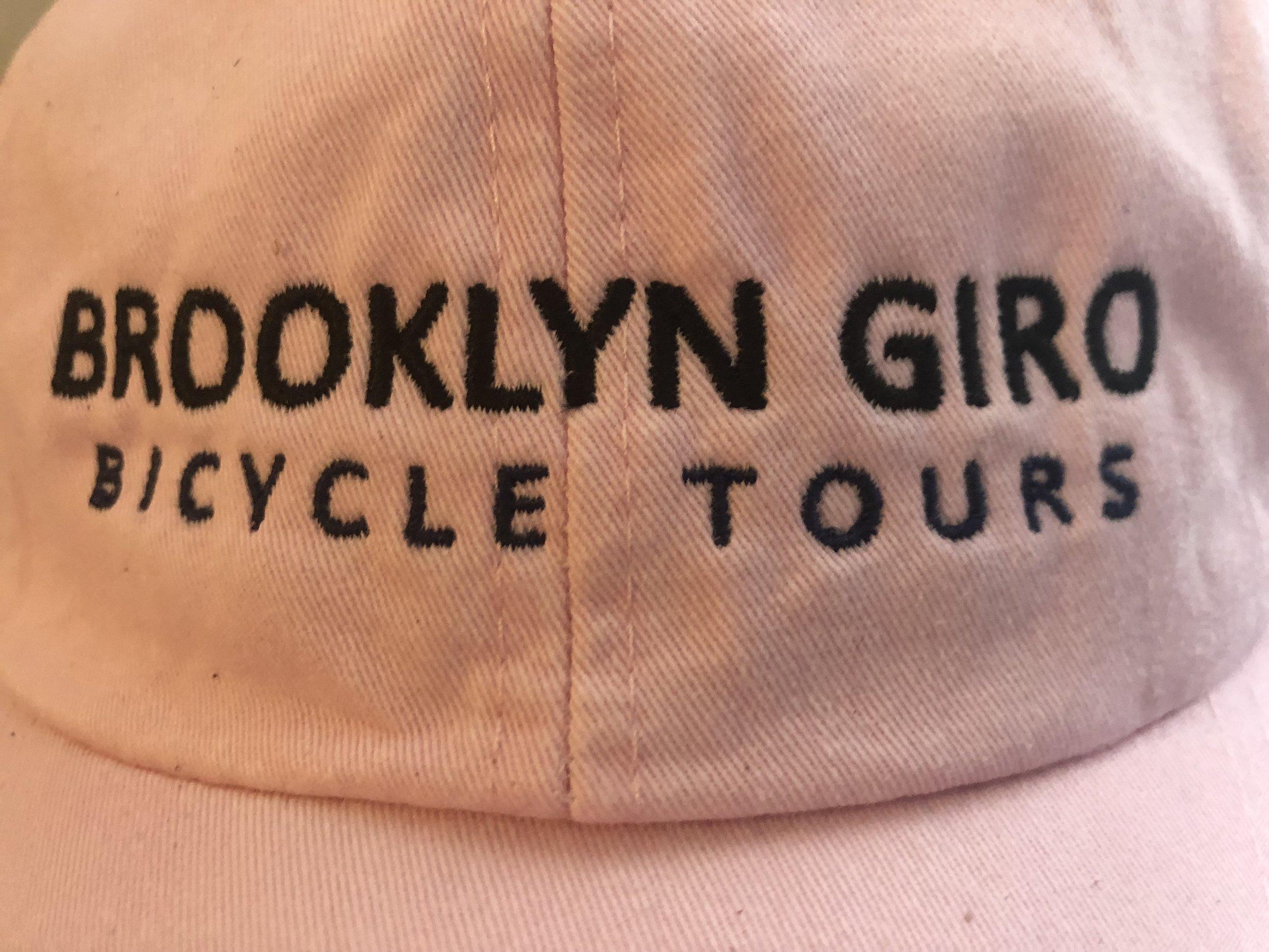 FRONT - BROOKLYN GIRO BASEBALL CAP$25