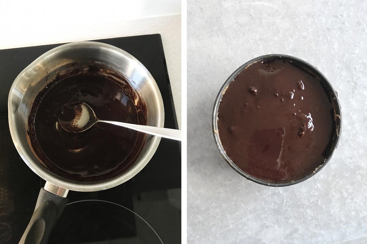 hemmagjord chokladsås nyttig sockerfri
