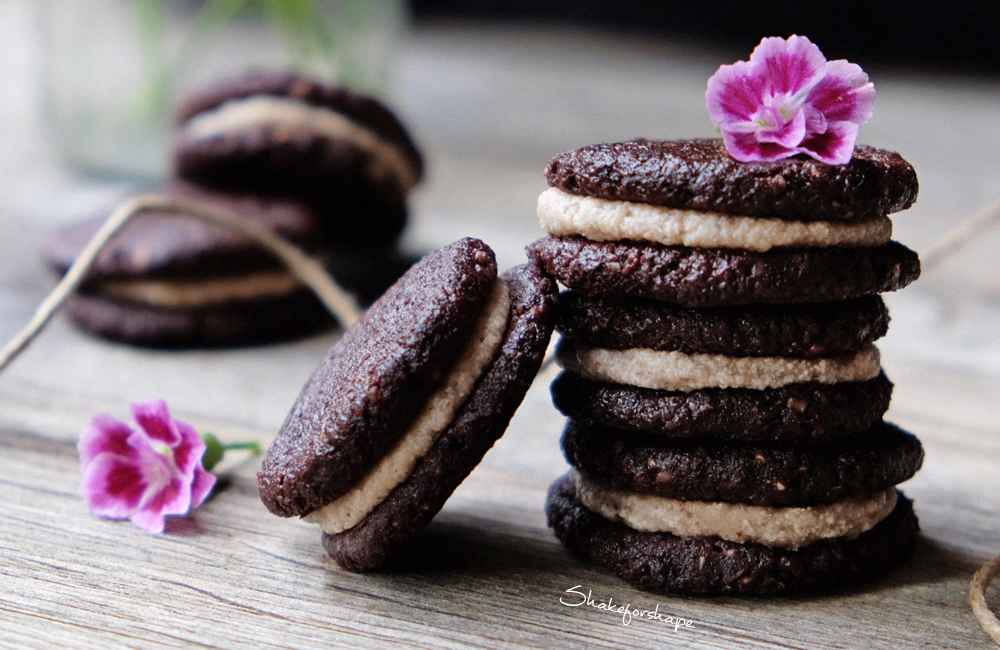 raw oreos recept