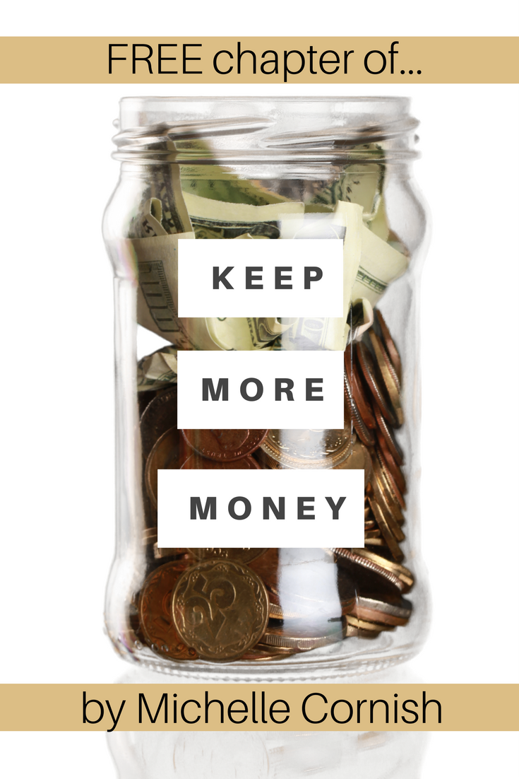 Get a free Chapter of Keep More Money and learn how working with an accountant can help you increase profit!