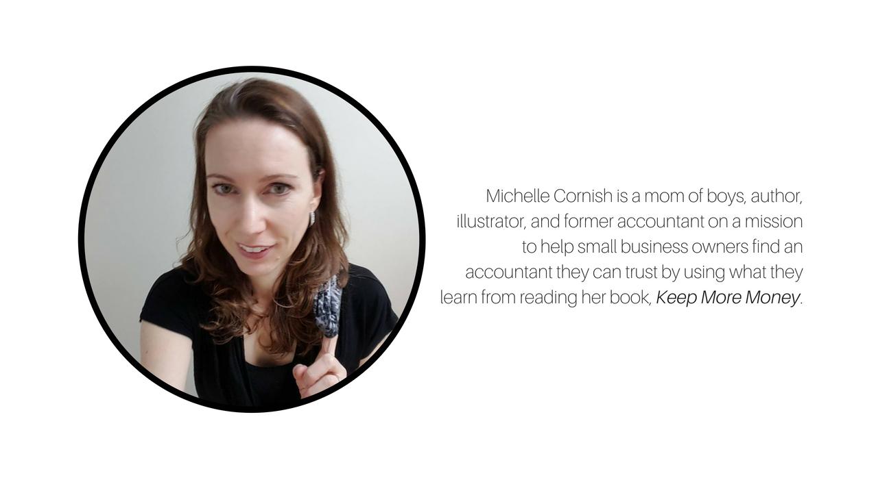Michelle Cornish former accountant and small business advocate.