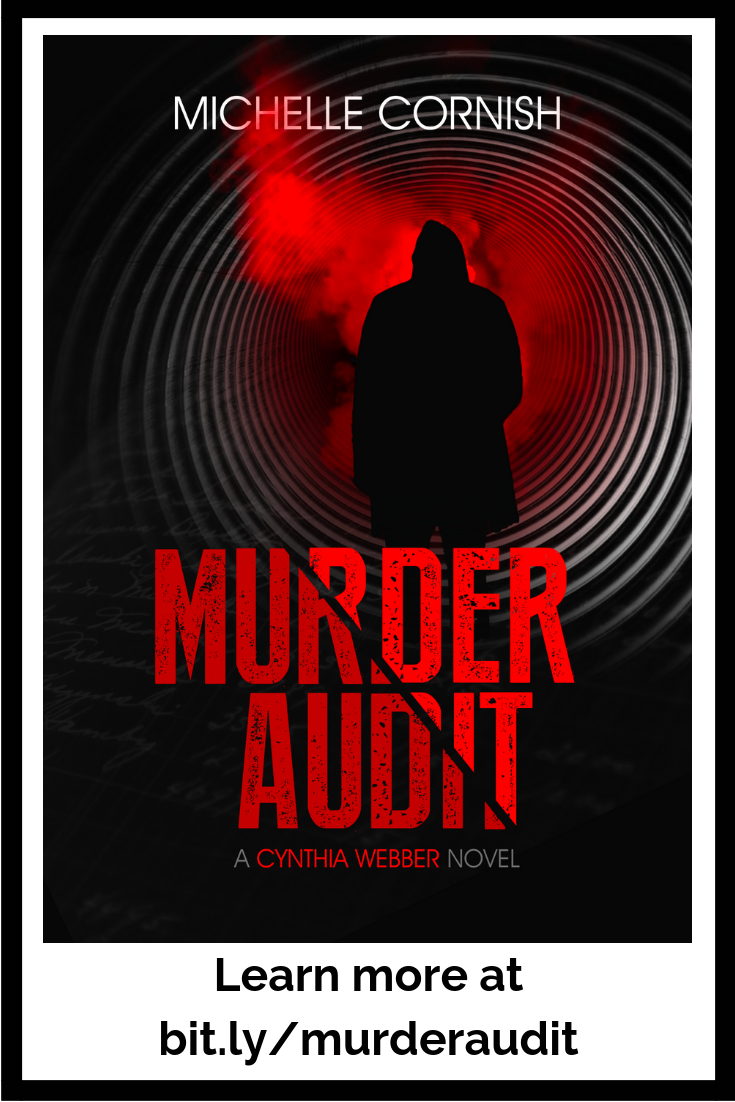 Murder Audit is now available on Amazon - the debut thriller novel from Michelle Cornish set in Calgary and featuring strong female characters.
