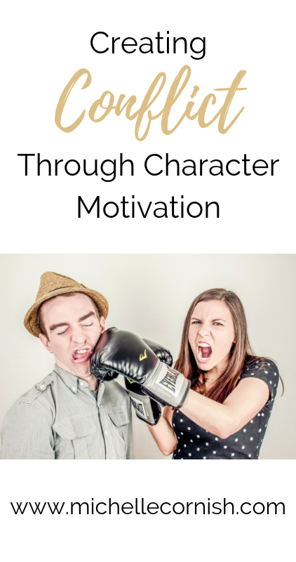 Next in my twelve days of planning a novel series is creating conflict through character motivation. Use this as a way to create additional scenes in your novel outline.