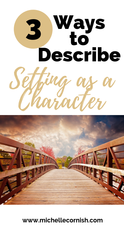 Stuck on your novel outline? Consider your setting as a character to add more detail. Here are three questions you can ask when it comes to describing your setting.