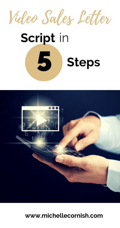 Five simple steps to creating a video sales letter. Learn content marketing secrets to increase sales through video.