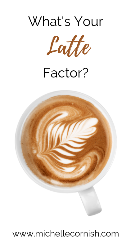 Learn how you can use David Bach's latte factor to save money.