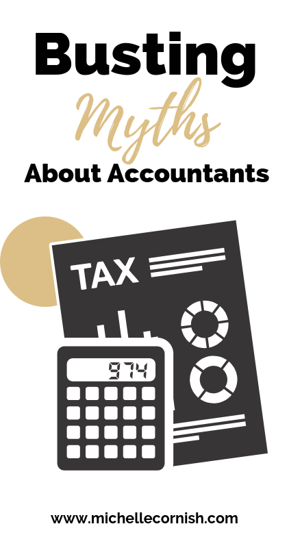 Busting common myths about accountants. They're not boring or wear suits and ties all the time, but they sure can save you a lot of tax and keep your business running smoothly.