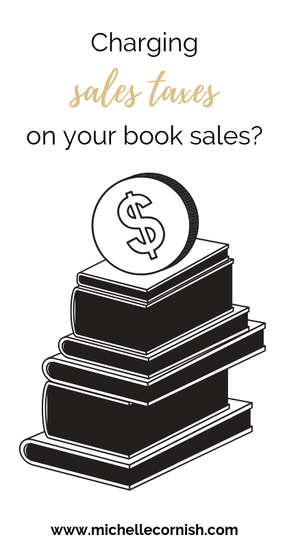 Not sure if you should be charging sales taxes on your book sales as a Canadian author? This articles covers Canadian sales tax basics when it comes to your author business.